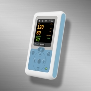 Personal blood pressure monitor handheld device